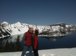 Crater Lake March 2010