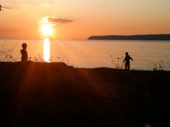 Crescent Beach Sundown